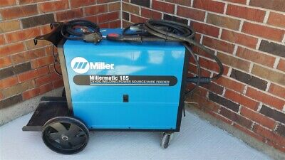 Miller Millermatic 185 Mig Wire Welder 200230v Tested Local Pickup Only