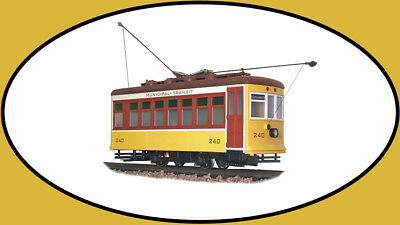 Used, Hartland Locomotive Works 09360 East Coast Yellow Birney Trolley New In TheBox for sale  Las Vegas