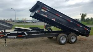 2016 Diamond C 25DOD 14' Highboy Dump Trailer