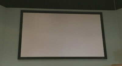 Used Draper Onxy Projection Screen 80x140 Black Fixed Aluminium Worship