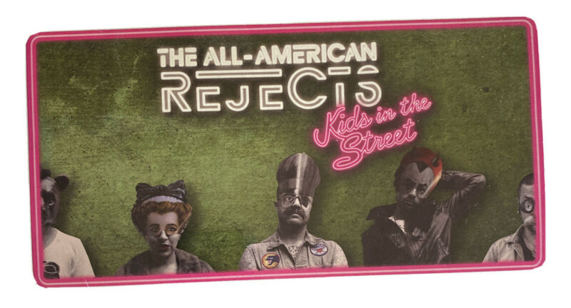 All American Rejects AAR Kids In The Streets 2012 Authentic Promo Decal Sticker