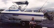 Kingfisher is for Sale Seafarer Viking 5.5 Metres, 130 HP Yamaha Glen Innes Glen Innes Area Preview