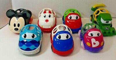 OBall Cars Baby Preschool Toy Lot of 7 Mickey John Deere