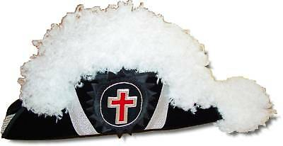Masonic Knights Templar Sir Knight Chapeau - Deluxe (SKC-100)