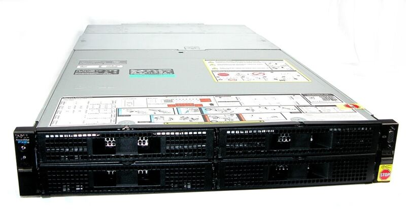 Dell XJ6VP PowerEdge FX2/s Blade Server Chassis w/2 1600W PSU