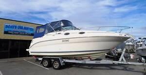 SEA RAY 240 SUNDANCER QUALITY FITOUT HAS TRANSVERSE BUNK Wangara Wanneroo Area Preview