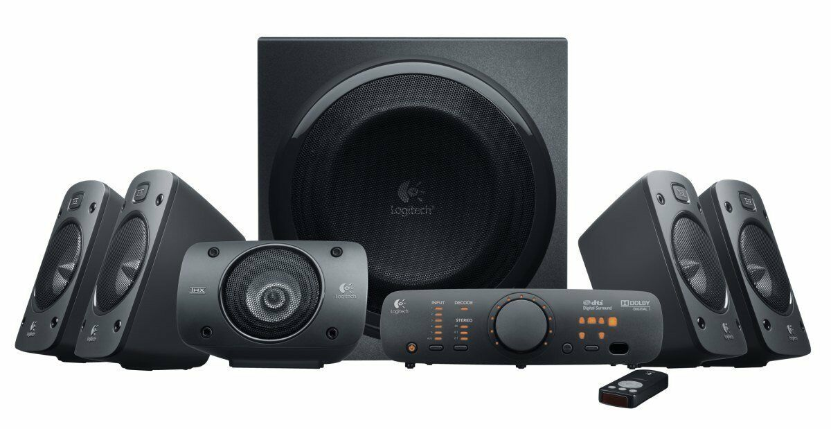 Logitech Z906 High End 5.1 Surround PC-Lautsprechersystem NEU OVP