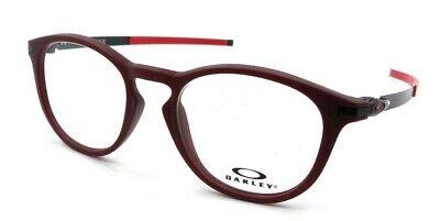Oakley Rx Eyeglasses Frames OX8105-1650 50-19-140 Pitchman R Satin Brick Red