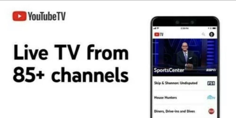 1 months YouTube TV License - 80+ ch -Live , Unlimited DVR - only USA