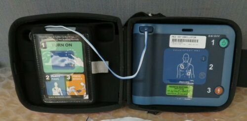 Philips HeartStart FRx AED Onsite Home New Battery Case #17804