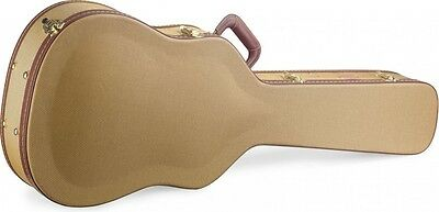 Stagg Model GCX-W-GD Gold Tweed Dreadnought Size Acoustic Guitar Hardshell Case