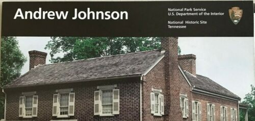 New ANDREW JOHNSON NHS - Tennessee   NATIONAL PARK SERVICE UNIGRID BROCHURE  Map