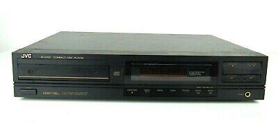 Vtg JVC XL-V222 BK CD Compact Disc Player 1988