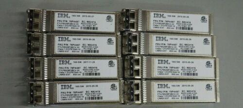 Lot 20x IBM FTLF8529P3BCV-IH 16GB SW 850nm SFP Optical Transceiver IBM 78P4487