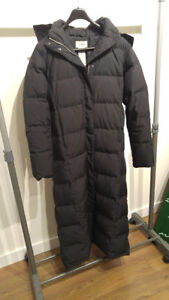 Goose Down LL Bean Winter Long Coat Very Good Condition