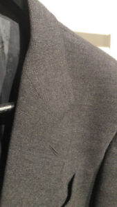 Armani Collezioni Wool Sports Jacket Grey/Black