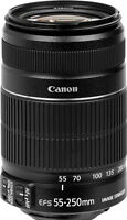 Canon EF-S 55-250mm f/4-5.6 IS Telephoto Zoom Image Stabilize