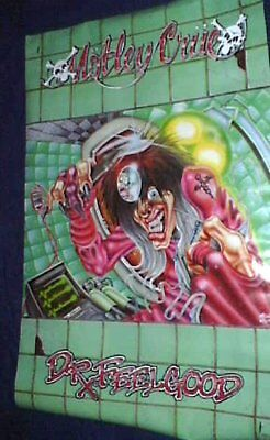 MOTLEY CRUE Vintage  Poster in NEW CONDITION Aleister DR FEELGOOD