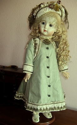 """PATTERN FOR 30"""" FRENCH DOLL DRESS ~ ANTIQUE STYLE ~ AMELIA *"""