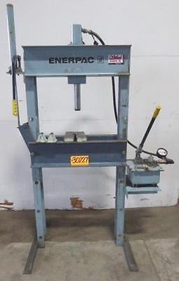 25 Ton Enerpac H-frame Hydraulic Press Iph-2530 30227