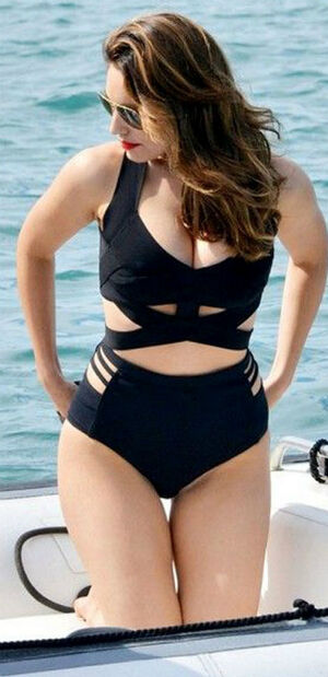 Push Up Padded Plus Size Bikini Set