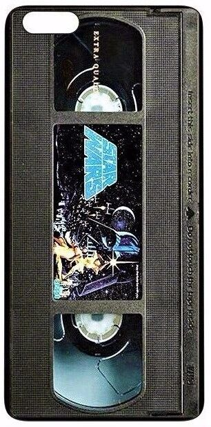 Vintage Star Wars VHS Tape Silicone Quality case (iPhone 5,5S,SE,6,6S,7,8)