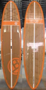 New Stand Up Paddleboards SUP with Leash and Fiberglass Paddle