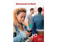 JOBS and Free Training for 18-25 year olds with VODAFONE