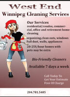 West End Cleaning Lady