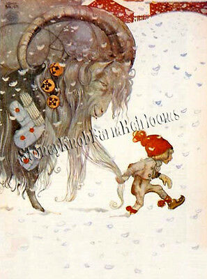 Yule Goat & Gnome ~ Christmas Swedish Fairy Tales ~ Counted Cross Stitch Pattern ()