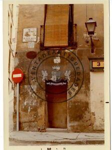 FOTO-ANTIGUA-N-3-ANTIGUAMENTE-6-DE-LA-PLAZA-DE-LA-MORERIA-Y-PLACA-MADRID-1971