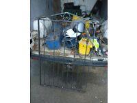 BRAND NEW IRON GARDEN GATE!!