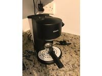 KRUPS coffee / espresso machine with steamer - good condition