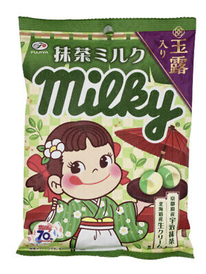 FUJIYA milky kyoto uji matcha soft candy 72g