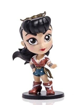 Loot Crate EXCLUSIVE DC Lil Bombshells Wonder Woman Figure Cryptozoic (Lil Wonder Collection)