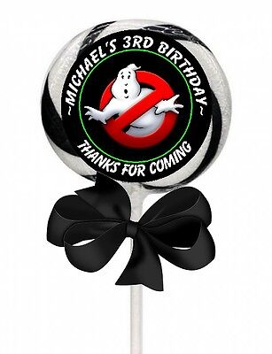 Ghostbusters Birthday Party (GHOST BUSTERS GHOSTBUSTERS BIRTHDAY LOLLIPOP PARTY STICKERS FAVORS 1.5