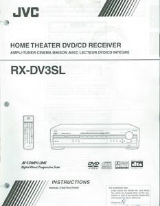 JVC Home Theater DVD Receiver