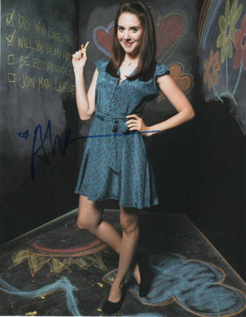 GFA Community Sexy Star * ALISON BRIE * Signed 8x10 Photo AD5 PROOF COA