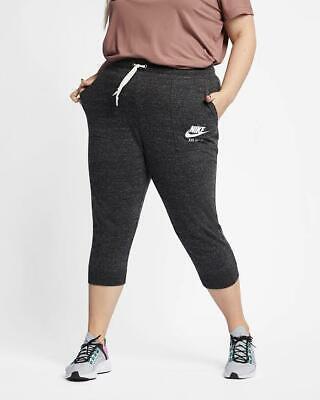 Nike Women's Trouser Plus Size Gym Vintage Capri Pants Running Walking Yoga