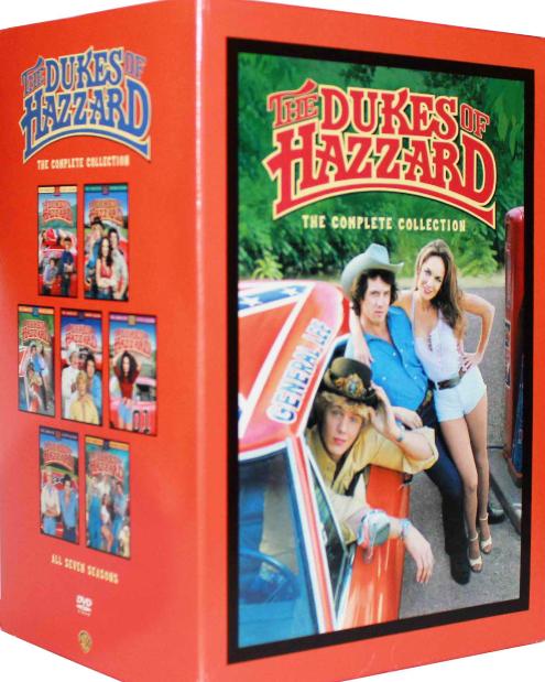 DUKES OF HAZZARD The Complete DVD Series Seasons 1-7 - Season 1 2 3 4 5 6 7 NEW!