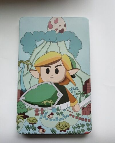 NS Legend of Zelda Link custom print box case Steelbook for Switch Game Card