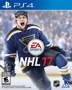 PS4 NHL17 NHL 17 sealed and new