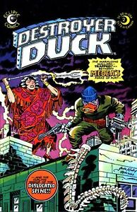 Destroyer Duck Comics