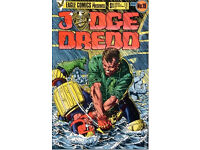 JUDGE DREDD 2000AD MAGS AND ANNUALS