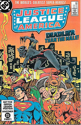 Justice League of America Comic Book #221, DC Comics 1983 NEAR MINT NEW UNREAD