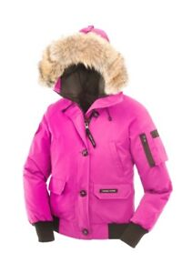 PINK CANADA GOOSE CHILLIWACK BOMBER