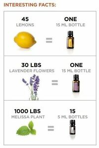 "Essential Oils doTERRA ""Certified Pure Therepeutic Grade"""