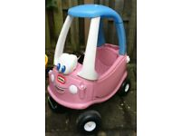 Little Tykes Cosy Coupe in Pink