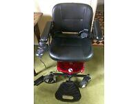 Rascal Powerchair Model P321 (Red)