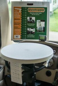 WHEEL TOPPER LIKE NEW FROM CAMPING WORLD.
